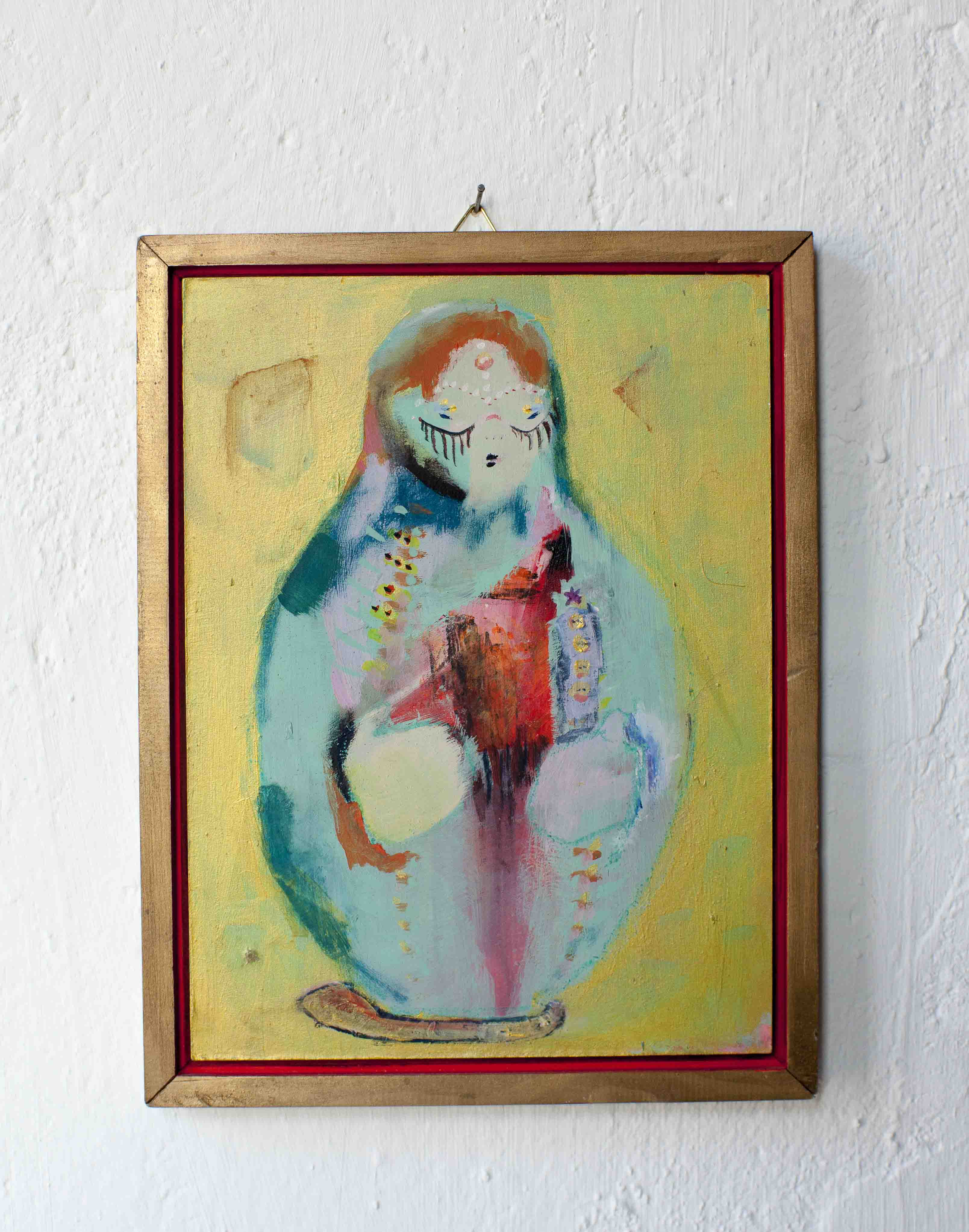 madonna_2013_27x19cm_acryl auf hartfaser, gerahmt