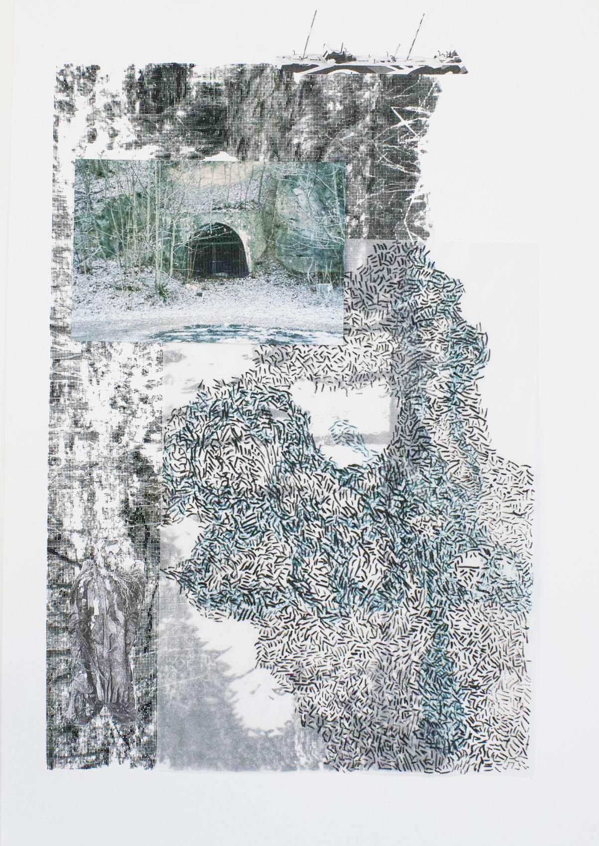 Camouflage I_40x30cm_Collage