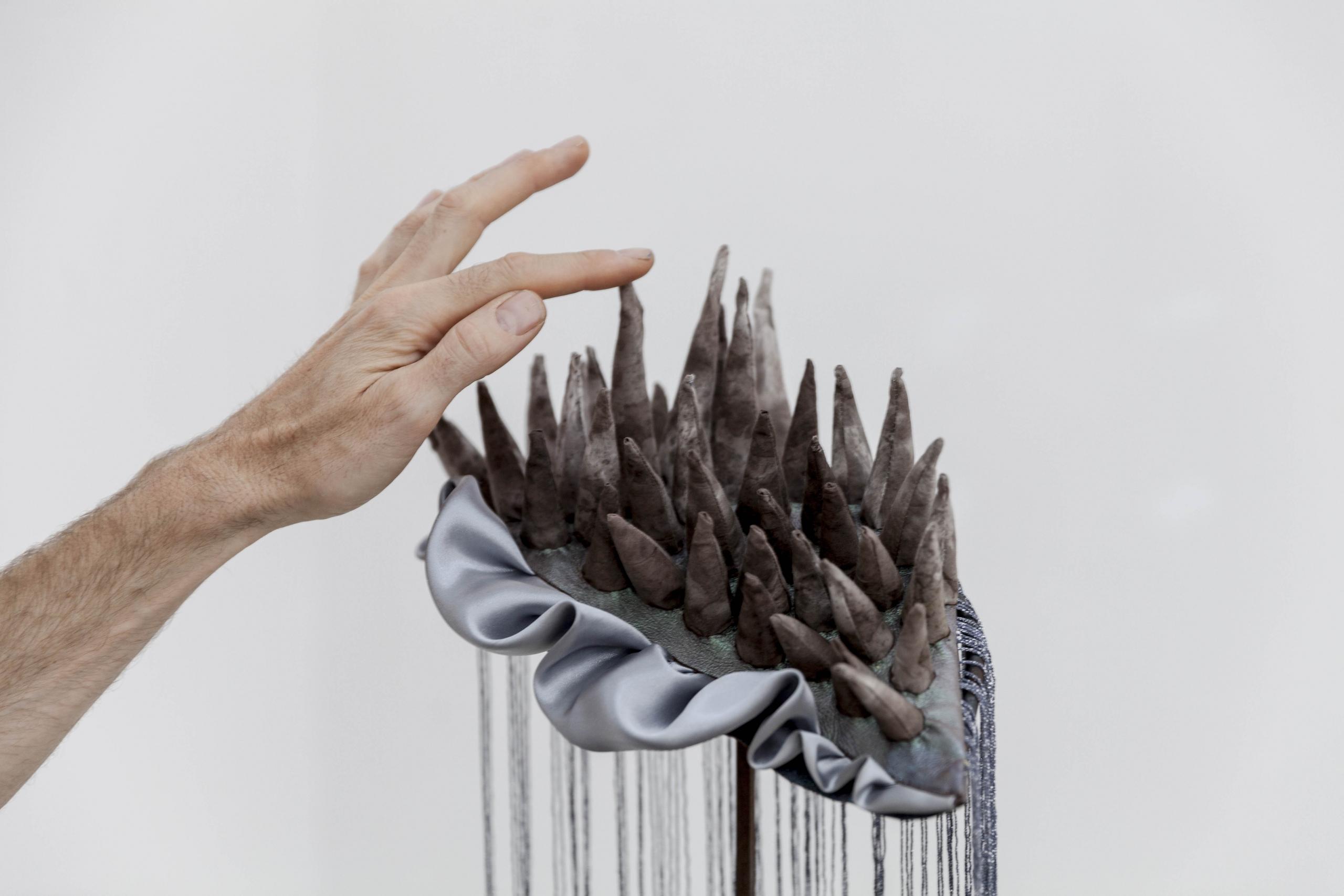 Body of Land, Ausstellungsansicht, Kunstraum VIKA Halle (Saale), 2021, Detail